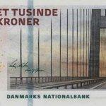 dkk - 1000 датских крон образца 2009 года